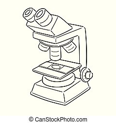 vector of microscope