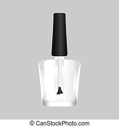 vector of Nail Polish Bottle