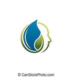 Nature health care logo