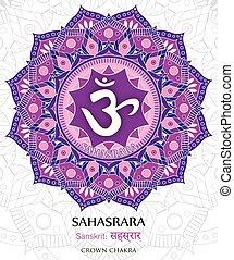 Vector of Sahasrara chakra