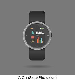 Vector of Smart watch