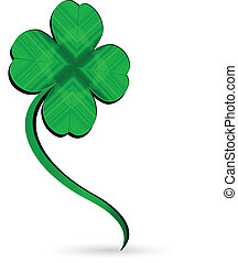 Vector of St. Patrick's day symbol clover