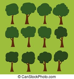 Vector of tree set