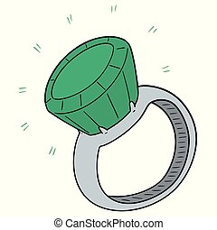 vector of wedding ring