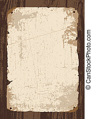 Vector Old Paper and Parchment - Easy to edit! Vector retro...