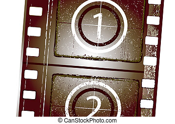 textured film strip