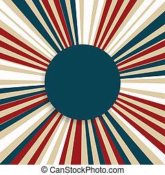 vector, ontwerp, dag, onafhankelijkheid