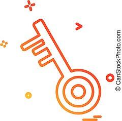 vector, ontwerp, spelbepalend ikoon