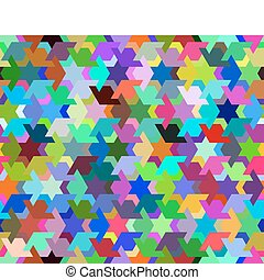 Vector - optic illusion - abstract desgin with geometric ...