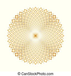 Vector Optical illusion Spin Cycles background