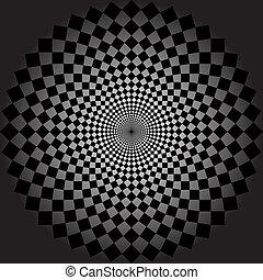 vector, optisch, kunst