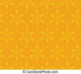 Vector orange abstract background