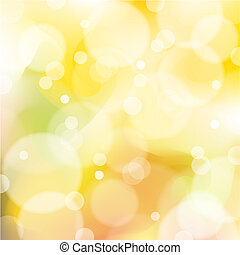 Vector Orange And Yellow Abstract  Background