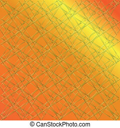 Vector orange background texture