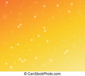 Vector orange background