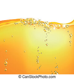 Vector Orange Water