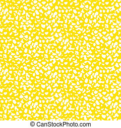 Vector organic pattern in bright yellow inspired by birds...