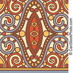 orient seamless pattern - vector orient seamless pattern