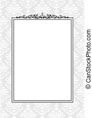Vector Ornament and Frame