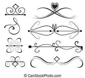 Vector Ornament Set 1