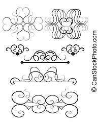 Vector Ornament Set 2
