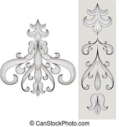 Vector Ornament Set