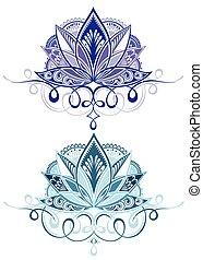 Vector ornamental Lotus