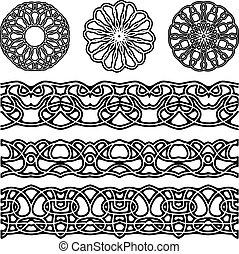 vector ornaments for design
