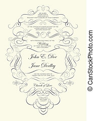 Vector Ornate Frame Background