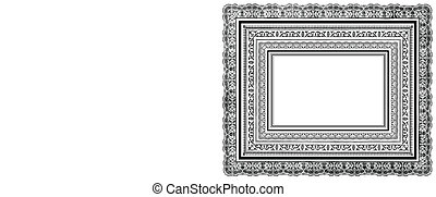 Vector Ornate Layered Frames