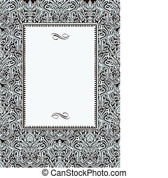 Vector Ornate Pattern and Ornaments