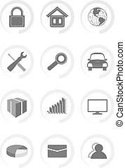 Vector Outline Icons For Web