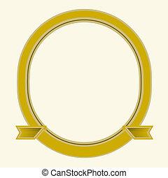 Vector Oval Frame