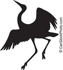 vector, pájaro