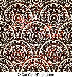 vector paisley seamless background