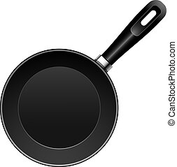 Vector Pan over white. EPS 10, AI, JPEG