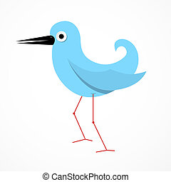 Vector Paper Bird Illustration