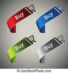 paper buy tapes - shopping cart button