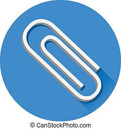 Vector Paper Clip Icon