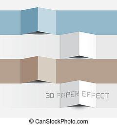 Vector Paper Effect