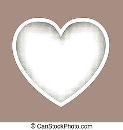 Vector Paper Heart