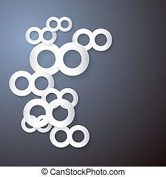 Vector Paper Infinity Symbol Background