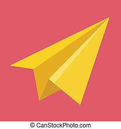 Vector Paper Plane Icon