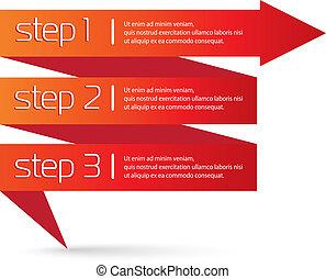 Vector Paper Progress background