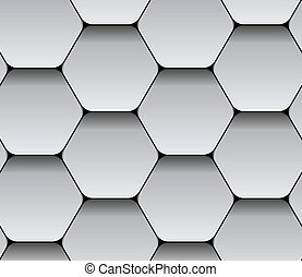 vector paper seamless hexagon pattern