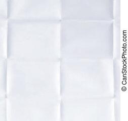 vector, papier, blad