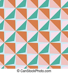 Vector papper stickers cut-out tile baby seamless pattern