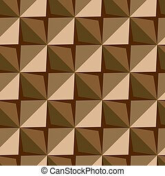 Vector papper stickers cut-out tile coffee seamless pattern