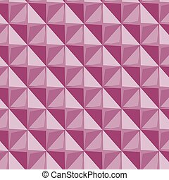 Vector papper stickers cut-out tile pink seamless pattern