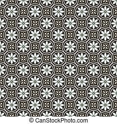 Vector Pastel Floral Pattern